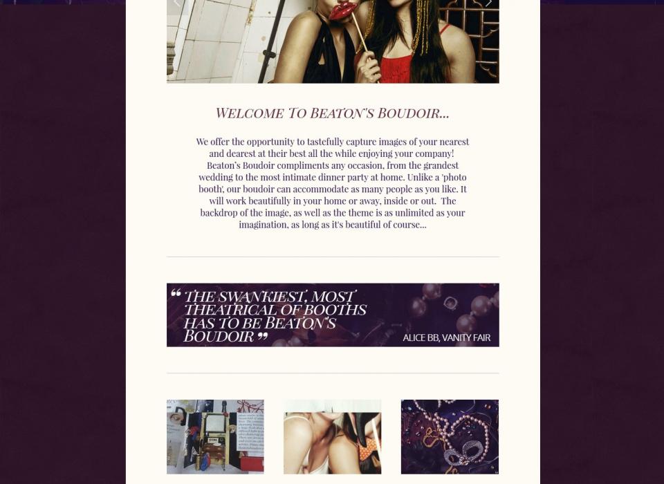 beatons website